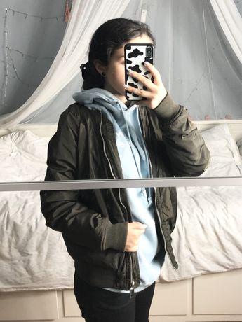 Kurtka bomberka bomber jacket khaki wiosna rozmiar S Calliope