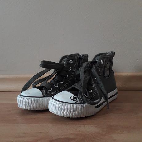 Super buty sportowe trampki z suwakiem dla dziecka rozmiar 28 jak nowe