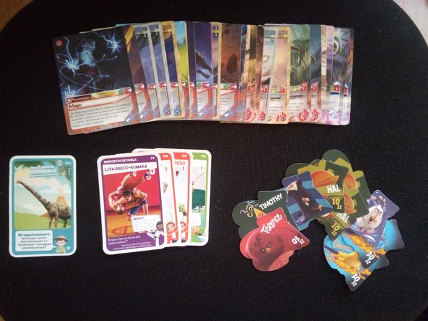 Troco cartas Fantasy Riders 1/2, Super Desportos/Animais, Angry Birds