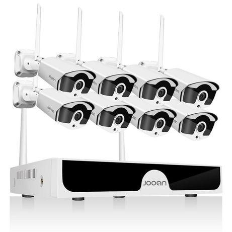 Sistema Vídeo Vigilância WIFI Profissional 8 Cameras Exterior 2160P