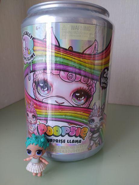 Новый набор Пупси Лама единорог слайм Poopsie сюрприз