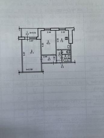 Продам 2-х комнатную квартиру Тополь-2
