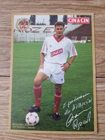 Pocztówka Rts Widzew Łódź 1995/96