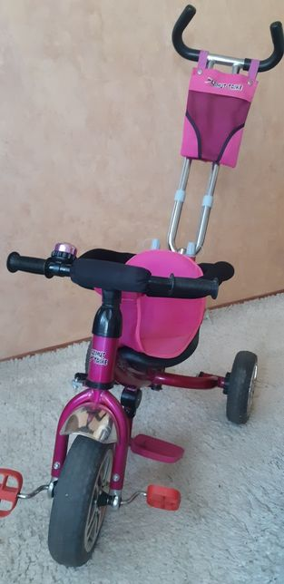 Велосипед с родительской ручкой Azimut Trike