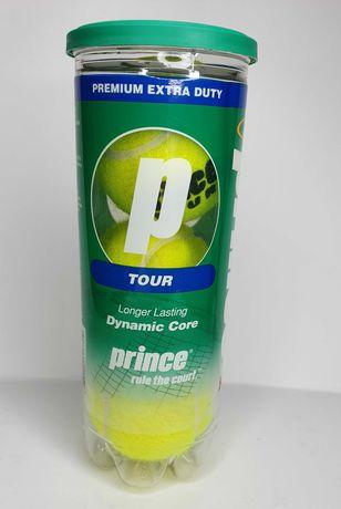 Новые теннисные мячи Prince Tour 3 ball Вакум Оригинал USA