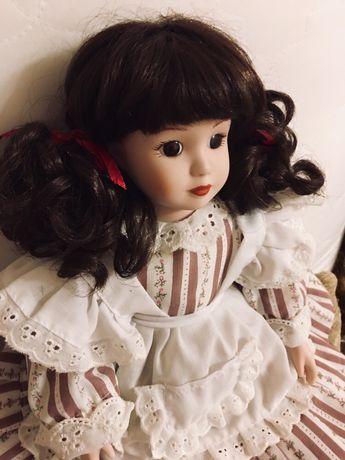 Винтажная кукла фарфор фарфоровая 43см Германия