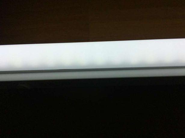 Armaduras com lampada t8 led com 1.20