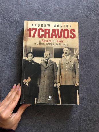 Livro 17 Cravos de Andrew Morton