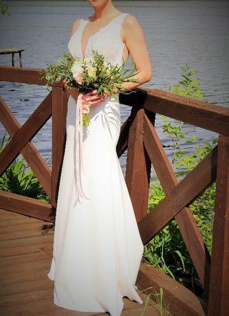 Suknia ślubna Pilar Grace 2019 rozmiar 34/36 typu rybka