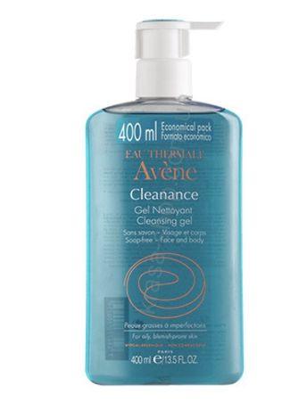 Avene Cleanance гель для умывания 400мл