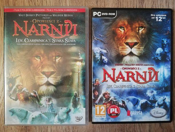 Opowieści z Narnii Lew, Czarownica i Stara Szafa - DVD + gra PC