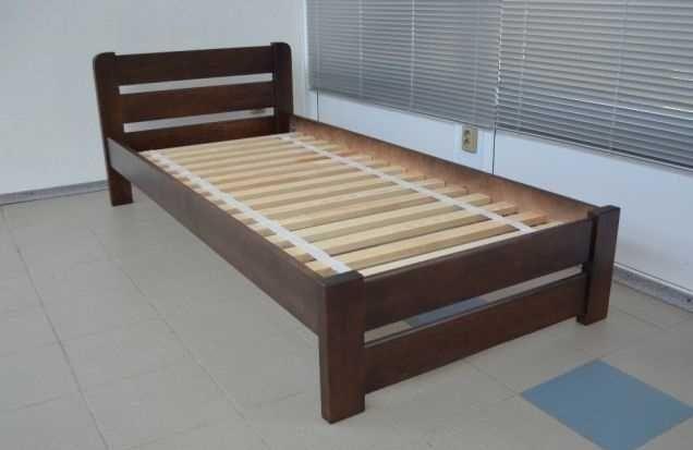 90*190 см кровать деревянная односпальная