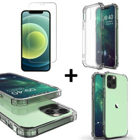 Pancerne etui A-Shock+ szkło do iPhone 12 / 12 Pro