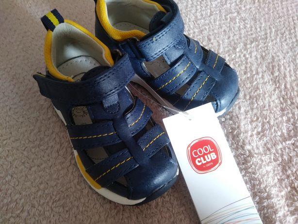 Sandałki chłopięce COOL CLUB smyk 20 nowe z metką