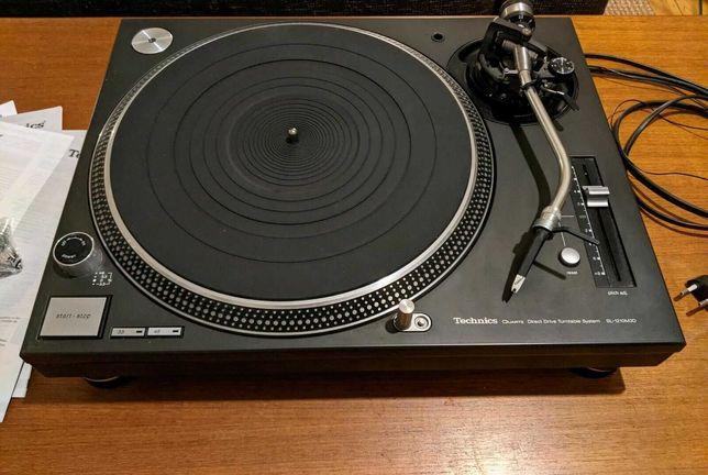 Gramofon Technics 1210 M3D Idealny Karton System Ortofon Slipmata