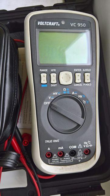 Multimetr Cyfrowy VOLTCRAFT VC950 z VC511
