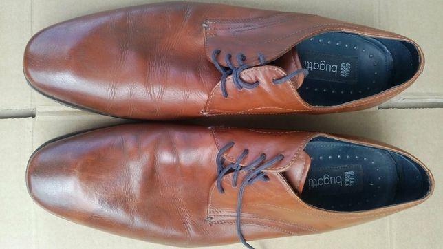 Туфли брендовые Bugatti (кожа)