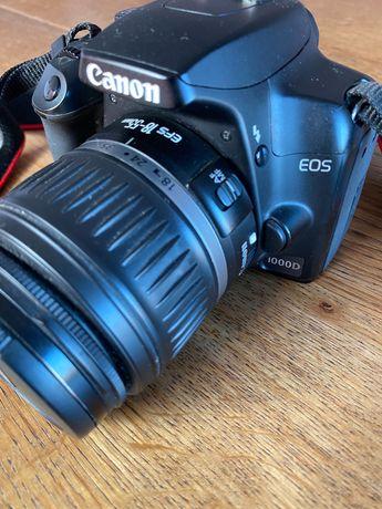 Canon EOS 1000D + Lente 18-55mm