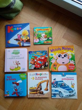 8 książeczek dla dzieci