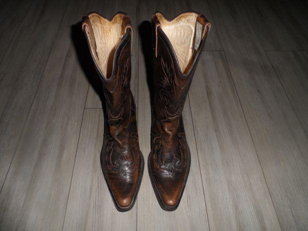 Мото сапоги Казаки, кожаные - Канада, 42р\стелька 28 см\