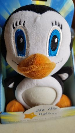 Симпатичная игрушка - ночник Пингвин .