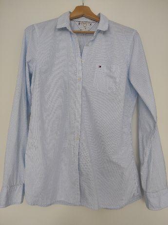 koszula Tommy Hilfiger niebieska paski 38 wysyłka gratis