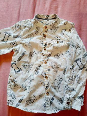 Рубашка M&S 4-5 лет