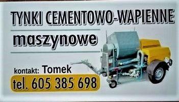 Tynki cementowo-wapienne (tradycyjne)