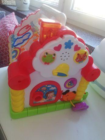 Kinderplay, zabawka interaktywna Sorter pianinko