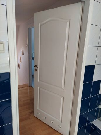 Drzwi wewnętrzne łazienkowe Lewe