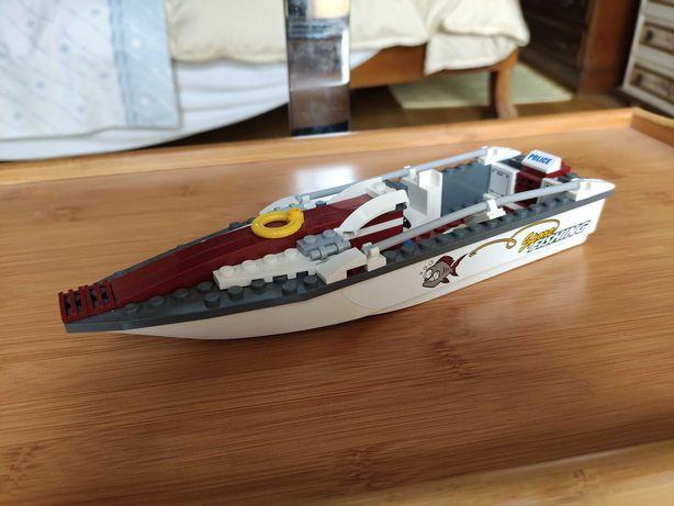 Barco policia coleção Lego