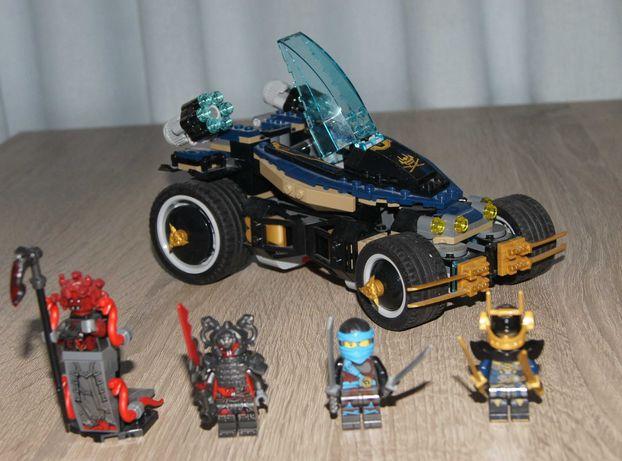 Zestaw klocków Lego Ninjago Samuraj 428szt kompletny bdb 8 figurek