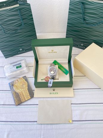 Relogio Rolex Day-Date Blue Novo