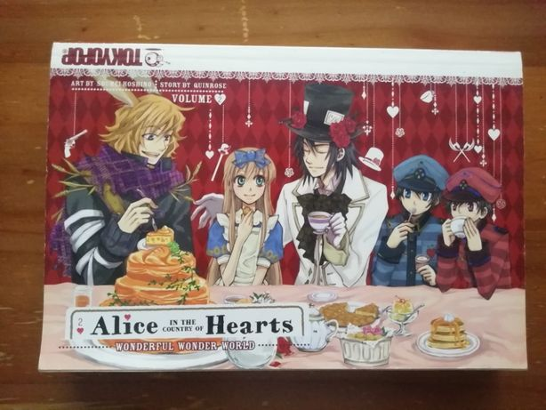 Manga Alice in the Country of Hearts - Inglês