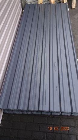 Blacha trapezowa poliester 7024 T18 0,5mm , cena z Vat