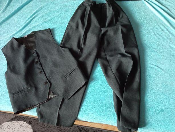 Spodnie+kamizelka 140