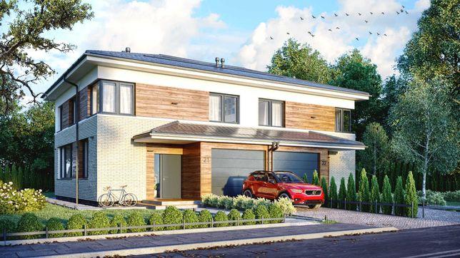 Dom Bliźniak nowoczesny doskonale zlokalizowany pod Warszawą IVQ2021