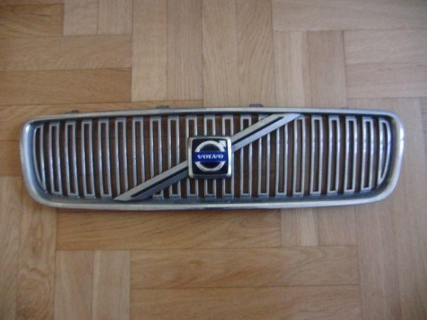 Volvo s40 v40 atrapa grill chrom kratka znaczek 01-03