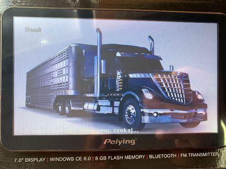 7 cali !Nowa! Nawigacja iGO Primo Truck 2020 Ciężarówki. 16GB.
