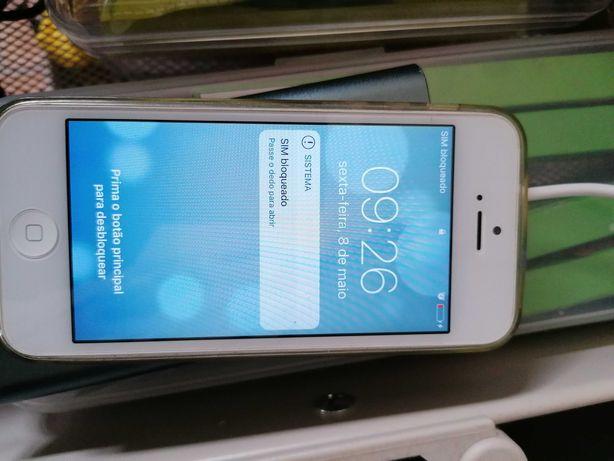 iPhone 5 branco + iPodShuffle 2gb