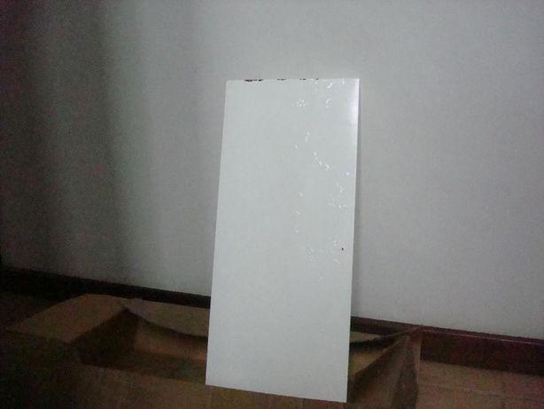 1 prateleira branca para estantes de escritório 70x30x3cm