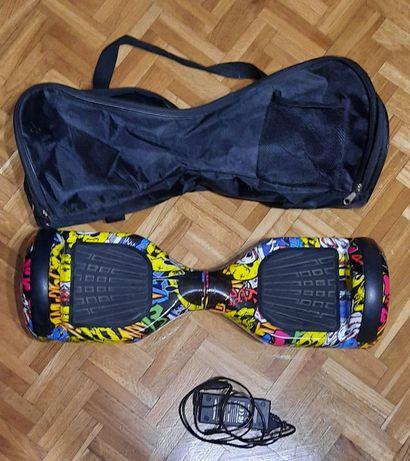 Hoverboard | deskorolka elektryczna MANTA + ładowarka + torba | TANIO!