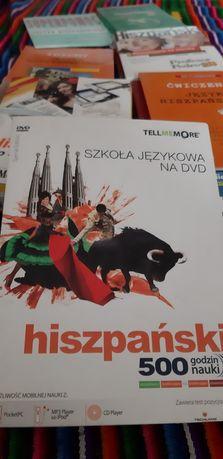 Hiszpański DVD Audio Kurs języka hiszpańskiego,  podręcznik, pakiet