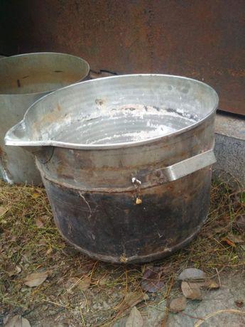 Кастрюля нержавейка (около 40 литров)