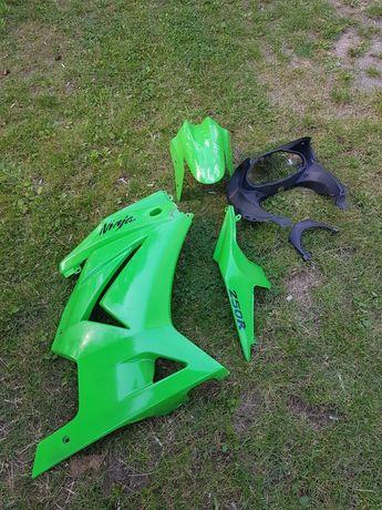 Kawasaki ninja 250r plastiki owiewki części