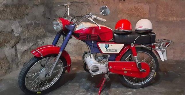 Motorizada Sachs Lebre 1962 com documentos