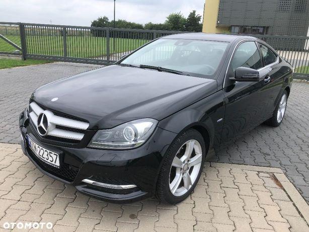 Mercedes-Benz Klasa C 2.2 CDI Coupe Automat Avantgarde SALON POLSKA