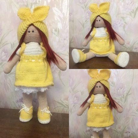 Интерьерная кукла,вязаная кукла,кукла своими руками,кукла тильда