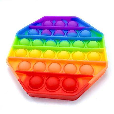 Антистресс Pop It Ромб, Пупырышки Поп Ит разноцветные
