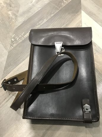 Планшет офицерский кожа новый сумка мужская